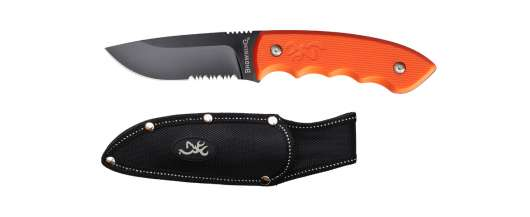 Browning  Kniv Explorer Fixed Orange