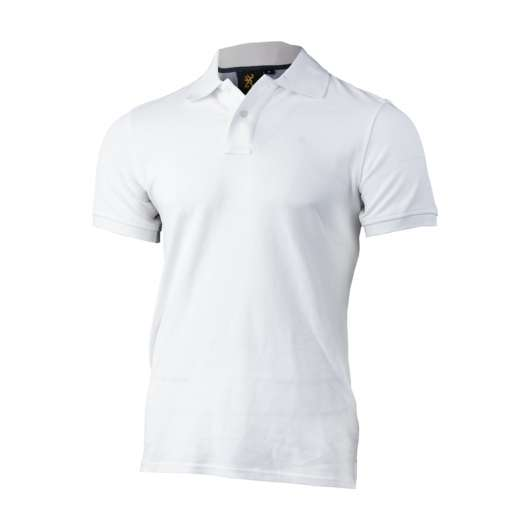 Browning Ultra 78 Polo Shirt  Vit