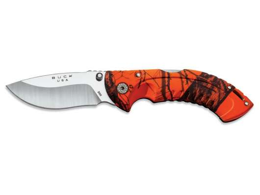 Buck 395 Folding Omni Hunter,  Blaze