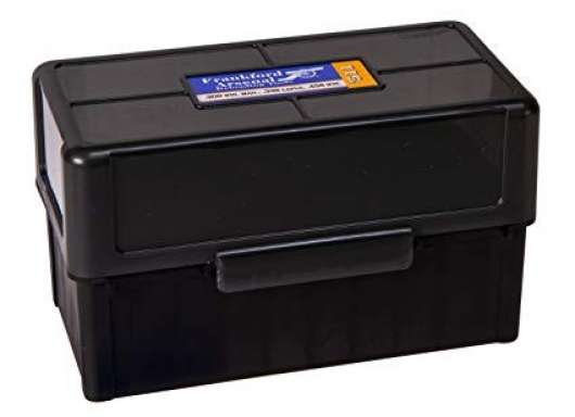 Frankford Arsenal Hinge-Top Ammo Box 100 Patroner
