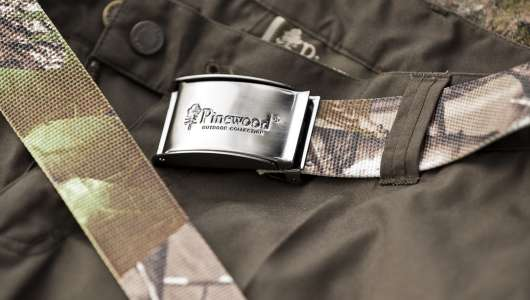 Pinewood Camou Canvasbälte